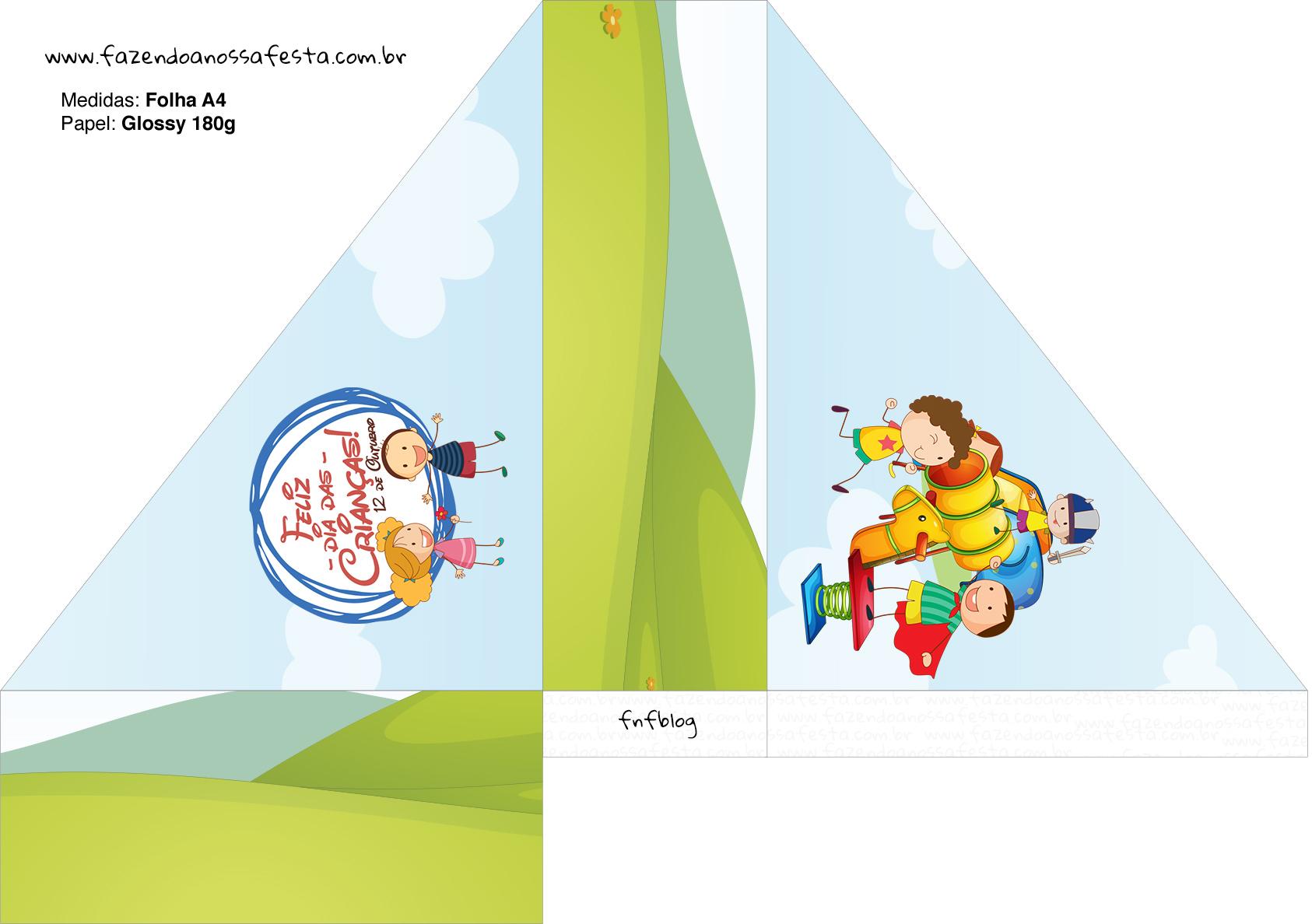 Porta Guardanapos Dia das Crianças Lembrancinha