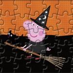 Quebra-cabeça Peppa Pig Halloween