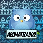 Rótulo Aromatizador Dia Dos Professores Coruja Azul