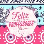 Rótulo Aromatizador Dia Dos Professores Coruja Rosa e Azul