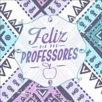 Rótulo Aromatizador de Ambiente Dia Dos Professores Coruja Roxa e Azul