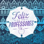 Rótulo Aromatizador de Ambientes Dia Dos Professores Coruja Azul