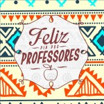 Rótulo Aromatizador ou Hidratante Dia Dos Professores Coruja Indie Laranja