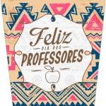 Rótulo Bisnaga Flip Top 2 Dia Dos Professores Corujinha India Marron