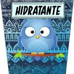 Rótulo Bisnaga Flip Top Sabonete Dia Dos Professores Coruja Azul