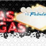 Rótulo Caixa de Bombom Kit Festa Las Vegas Poker