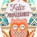 Rótulo Esmalte Colorama 2 Dia Dos Professores Coruja Indie Laranja