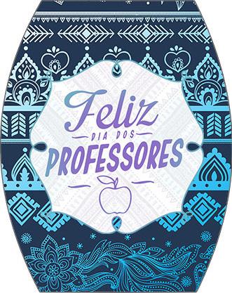 Rótulo Esmalte Colorama Dia Dos Professores Coruja Azul