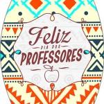 Rótulo Esmalte Colorama Dia Dos Professores Coruja Indie Laranja