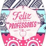 Rótulo Esmalte Colorama Dia Dos Professores Coruja Rosa e Azul