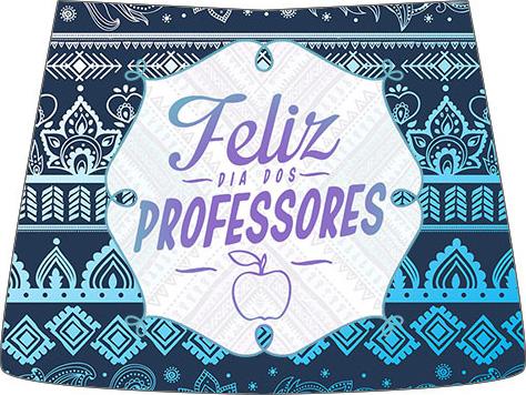 Rótulo Esmalte Risque Dia Dos Professores Coruja Azul