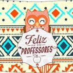 Rótulo Esmalte Risque Dia Dos Professores Coruja Indie Laranja 2
