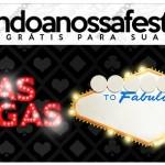 Rótulo Lápis Kit Festa Las Vegas Poker