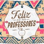 Rótulo Risque Dia Dos Professores Corujinha India Marron