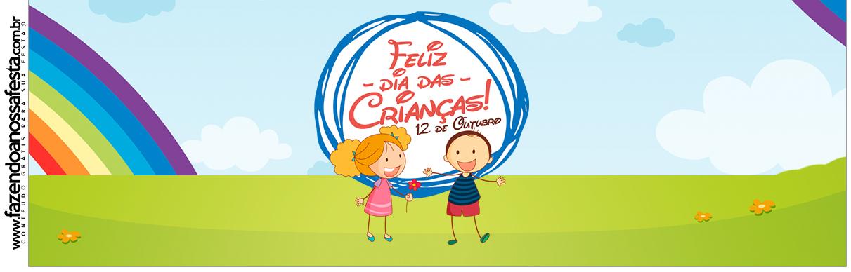 Rótulo Squezze Dia das Crianças Lembrancinha