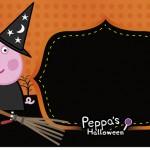 Rótulo Squezze Peppa Pig Halloween