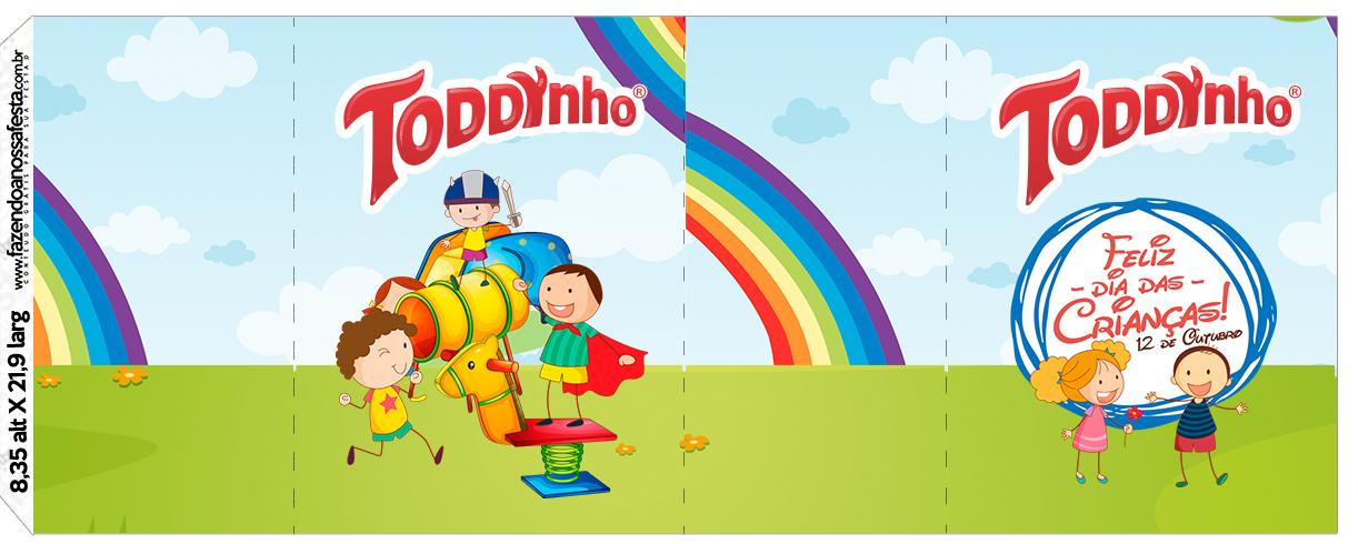 Rótulo Toddynho Dia das Crianças Lembrancinha