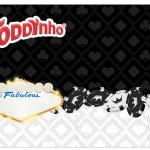 Rótulo Toddynho Kit Festa Las Vegas Poker