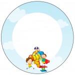 Rótulo Tubetes, Toppers e Latinhas Dia das Crianças Lembrancinha