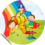 Rótulo para Tubetes e Toppers Dia das Crianças Lembrancinha