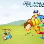 Revista Colorindo Dia das Crianças Lembrancinha