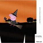 Sacolinha Peppa Pig Halloween - Parte 2