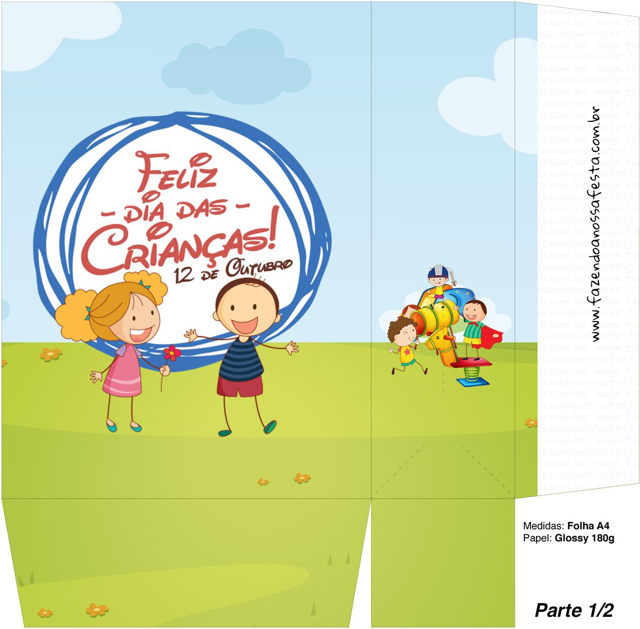 Sacolinha Surpresa Dia das Crianças Lembrancinha - Parte 1