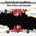 Saquinho de Balas Kit Festa Las Vegas Poker