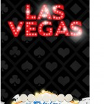 Tag Agradecimento Kit Festa Las Vegas Poker