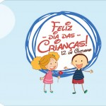 Tag pequena Dia das Crianças Lembrancinha