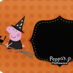 Tag pequena Peppa Pig Halloween