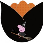 Topper Tulipa Peppa Pig Halloween
