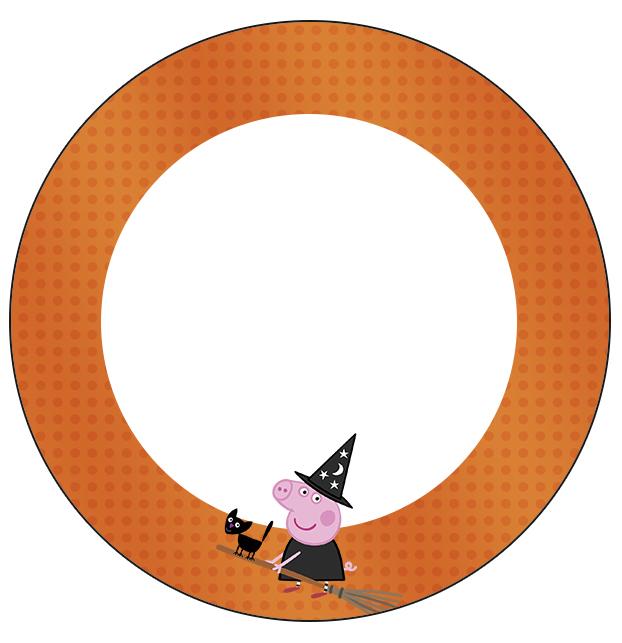 Tubetes, Toppers e Latinhas Peppa Pig Halloween