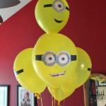Balão com Olhos Minions