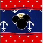 Bala Personalizada Mickey Marinheiro