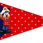 Bandeirinha Sanduiche 3 Mickey Marinheiro