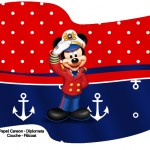 Bandeirinha Sanduiche Mickey Marinheiro