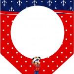 Bandeirinha Varalzinho Mickey Marinheiro