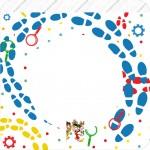 Bandeirinha Varalzinho Quadrada DPA Detetives do Prédio Azul