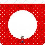 Bandeirinha Varalzinho Quadrada Mickey Marinheiro