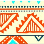 Bandeirinha Sanduiche 2 Corujinha Laranja Indie