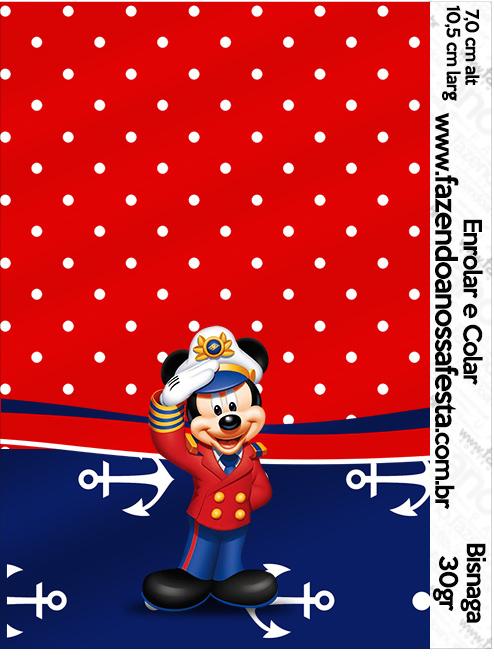 Bisnaga Brigadeiro 30gr Mickey Marinheiro