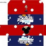 Caixa Baton Mickey Marinheiro
