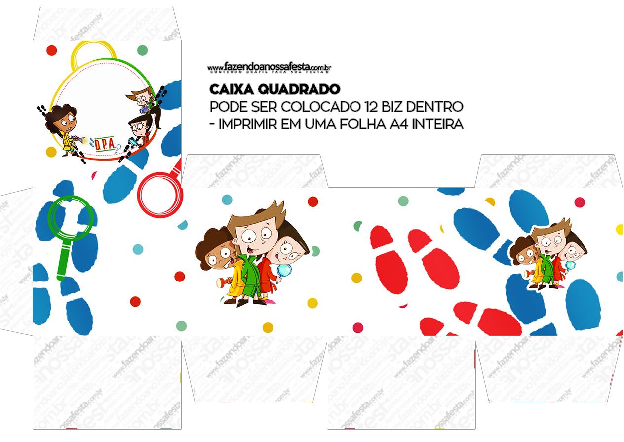 Caixa Bis DPA Detetives do Prédio Azul