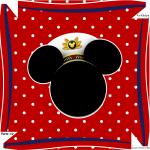 Caixa Bombom Mickey Marinheiro - Parte de cima