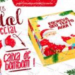 Caixa Bombom Personalizada para Natal – Grátis