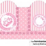 Caixa Coração Kit Realeza Rosa