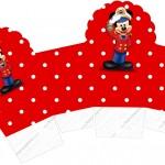 Caixa Cupcake Mickey Marinheiro