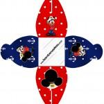 Caixa Mickey Marinheiro