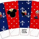 Caixa Pipoca Mickey Marinheiro